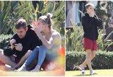 Paparacų kadrai atima žadą: užfiksavo Bieberį su žmona pykčio įkarštyje