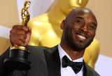 """""""Oskarą"""" laimėjusi NBA legenda Kobe Bryantas: tai geriau nei laimėti titulus"""