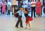 Nuostabūs mažieji šokėjai