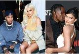 """Užminė mįslę: su vaiko tėvu išsiskyrusi milijardierė Jenner ir vėl grįžo pas """"eks""""?"""