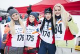 Neringa Šiaudikytė ir Ingrida Kazlauskaitė mėgavosi ekstremaliais žiemos malonumais