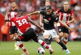 """""""Manchester United"""" barstė taškus ir prieš mažumoje likusius """"Southampton"""""""