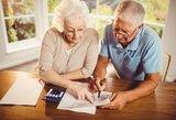 Kitų metų planuose – simbolinis pensijų augimas