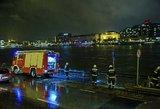 Dunojaus upėje nuskendo laivas su turistais – skaičiuojami žuvusieji