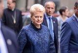 Grybauskaitei skirta tūkstantinė renta ir 4 padėjėjai