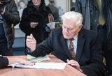 Adamkus: linkiu, kad naujasis prezidentas atvestų Lietuvą į tarptautinį lygį
