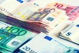 Valstybė praturtėjo: netikėtai gavo beveik 50 mln. eurų