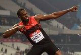 Greičiausias planetos žmogus: olimpiadoje aukso niekam neužleisiu