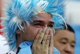 Skaudi tragedija: Argentinos sirgalius nusižudė po skaudaus pralaimėjimo Kroatijai