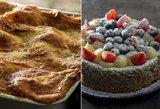 Ši lazanija ir sūrio tortas nepaliks abejingų: verti nuodėmės