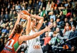 Lietuvos moterų krepšinio rinktinei pirmoji kova buvo nesėkminga