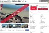 """Lietuviškas interneto """"perliukas"""": jonaviškio automobilio skelbime – nuogas vyras"""