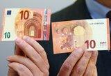 Ką rasite ir ko nerasite padirbtuose eurų banknotuose