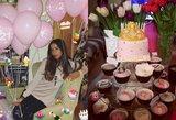 Karolina Meschino atšventė mergaitišką 21-ąjį gimtadienį: iš rožinės spalvos neišaugama