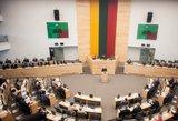 Parlamentarai Darbo kodekso pataisų imsis kitą savaitę