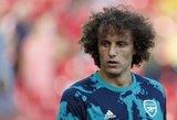 """Luizas atskleidė, ką """"Arsenal"""" futbolininkams reikia tobulinti labiausiai"""