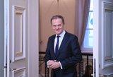 """D.Tuskas: yra tik """"ribotas sutarimas"""" dėl euro zonos reformos"""
