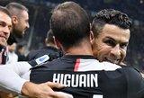 """Italijoje """"Juventus"""" įveikė """"Inter"""" ir pakilo į viršūnę"""