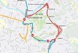 Keičiasi eismas Vilniuje: dalis gatvių nepravažiuojamos