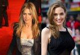 J. Aniston nori būti panaši į A. Jolie?