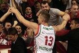 Italijos vyrų krepšinio lygoje žaidę trys lietuviai pelnė 31 tašką
