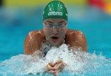 Tvirtai į pusfinalį nuplaukusi Rūta Meilutytė: visas jėgas atiduosiu vakare