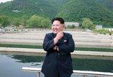 Kim Jong Unas: naujoji Šiaurės Korėjos raketa gali smogti JAV bazėms
