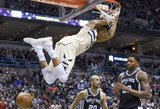 NBA lygoje – monstriški Duranto ir graikų antžmogio pasirodymai