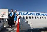 """Rusijoje uždrausta skraidyti """"Boeing 737"""": skrydžius gali nutraukti pusė oro linijų"""