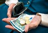 Ruošia pensijų pertvarką: sumos svyruoja nuo 60 iki 1 300 eurų
