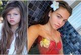 Gražiausia pasaulyje mergaite tituluota Thylane – jau pilnametė: parodė natūralų grožį