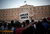 Graikija tikisi susitarti paskutinę minutę