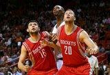 Ikisezoninių NBA rungtynių ciklą Donato Motiejūno klubas baigė pergale prieš čempionus