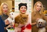 Lietuvoje – pirmasis vakarėlis šunims: savo keturkojais puikavosi ir garsenybės
