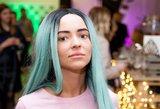 Šalčiūtė atsisakė mėlynų plaukų: naujas įvaizdis paliko be žado