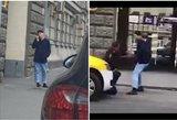 Maskvoje, prie Slovakijos ambasados, subadytas policininkas: ieškomas užpuolikas