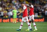 """""""Arsenal"""" sužaidė lygiosiomis su juos smūgiais talžiusiais """"Premier"""" lygos autsaideriais"""