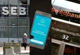 """Startuoja nauja bendra SEB ir """"Swedbank"""" paslauga"""