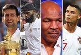 Garsiausi pasaulio sportininkai, kurių vaikystė priminė košmarą
