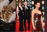 Londone įžymybės rinkosi į BAFTA apdovanojimų ceremoniją