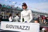 """Antonio Giovinazzi lenktyniaus ir antrajame """"Formulės 1"""" etape"""