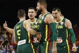 Paskutinės Lietuvos krepšinio rinktinės rungtynės dar turės reikšmės