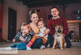 Žvagulių šeimyną papildė naujas narys: įsimylėjo iš nuotraukų