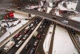 Perspėjo sostinės vairuotojus: aplenkite šias gatves