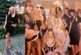 Natalija Bunkė prisiminė savo pašėlusį pirmąjį mergvakarį: pasidalijo vakarėlio kadrais