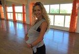 Edita Daniūtė į šokių salę grįžo kartu su kelių savaičių sūneliu