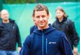 """Berankis vos neatvedė Lietuvos rinktinės į grandiozinį """"ATP Cup"""" turnyrą"""