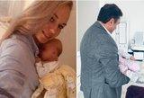 Birutė Navickaitė parodė ūgtelėjusią dukrą: sunku atsigrožėti