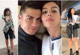 Ronaldo tai nepatiks: seksualūs mylimosios kadrai kaitina kraują