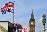 "Britanijos premjerė: suderinta 95 proc. ""Brexit"" susitarimo"
